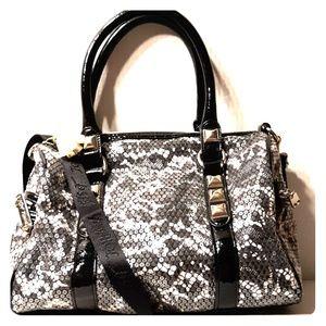 Betsey Johnson beautiful Sequin Speedy Satchel Bag